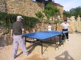 La table de ping-pong